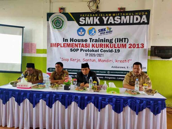 In House Training (IHT) Implementasi Kurikulum 2013 Tahun 2020/2021